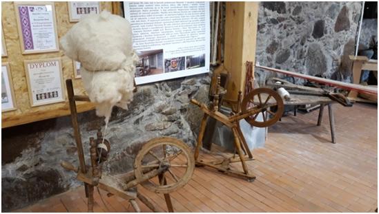 Park kulturowy w Milewszczyźnie - kołowrotek